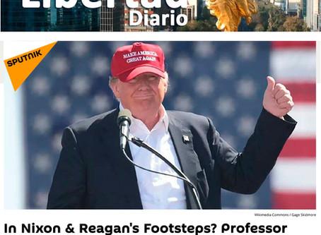In Nixon & Reagan's Footsteps Professor Names Three Possible Scenarios for Trump's October Surprise