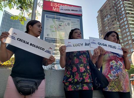 Grupo Pinochetista rebautiza estaciones de metro con homenajes a Lucía Hiriart y Patricia Maldonado