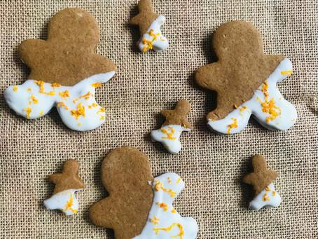 The Best Orange Zest Gingerbread Cookies