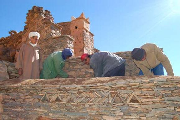 La pierre, ancestrale richesse berbère à sauvegarder