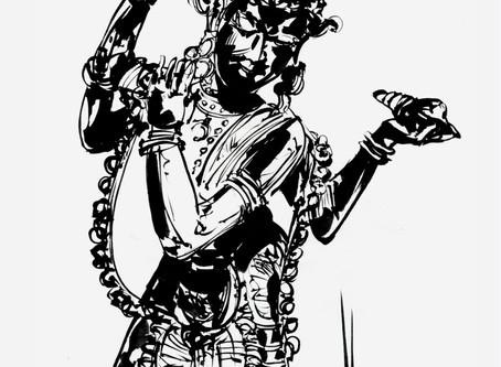 Shiva, le Dieu bienfaisant qui porte bonheur . Il est aussi considéré comme le dieu du yoga.