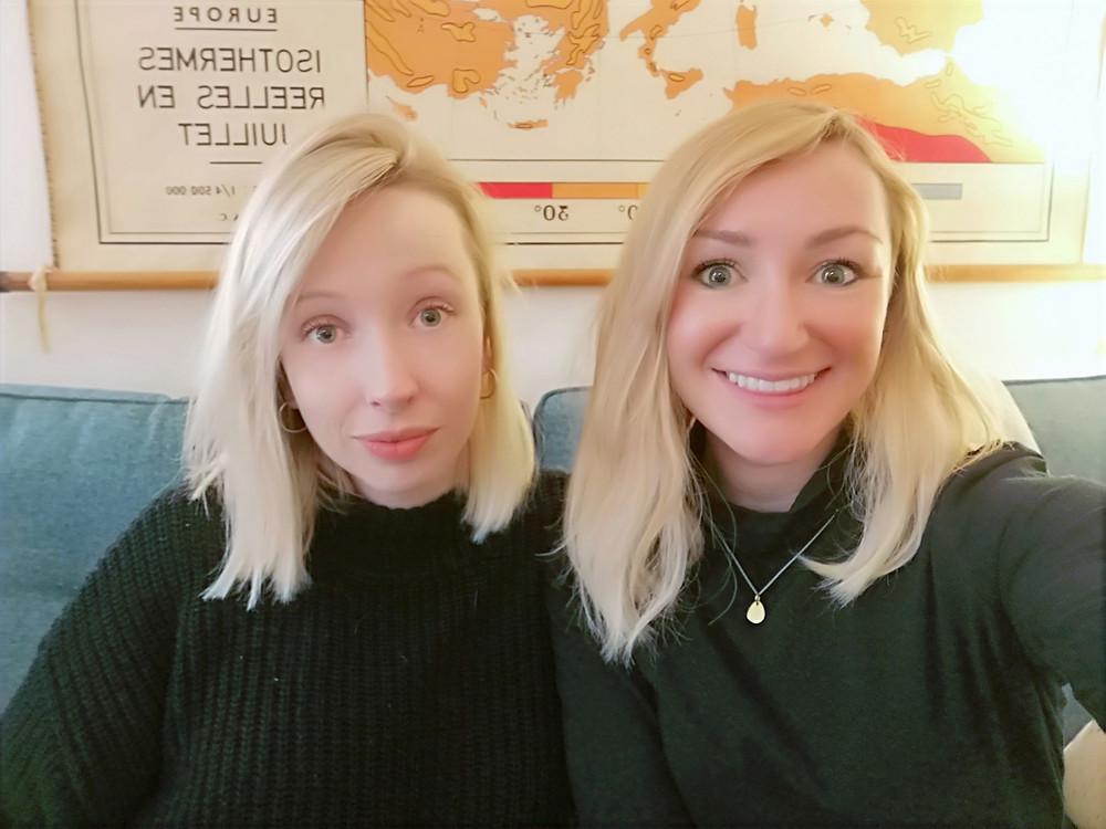 Big Fat negative host Emma and ELANZA Wellness cofounder Catherine Hendy