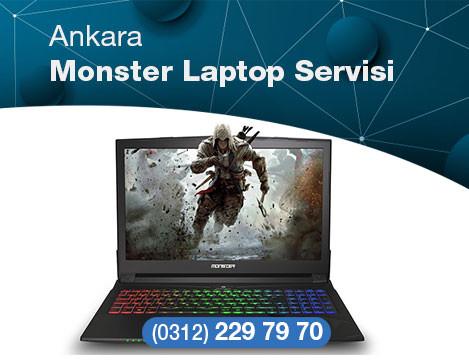 Ankara'da Monster Laptop Tamir Servisi, Garantili Hizmet.