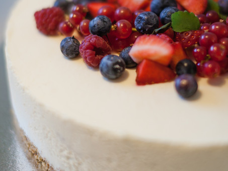 Healthier Cheesecake (or bites)