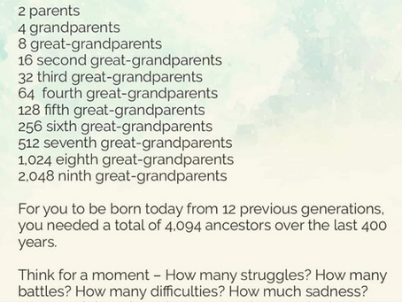 Ancestral Mathematics Magic