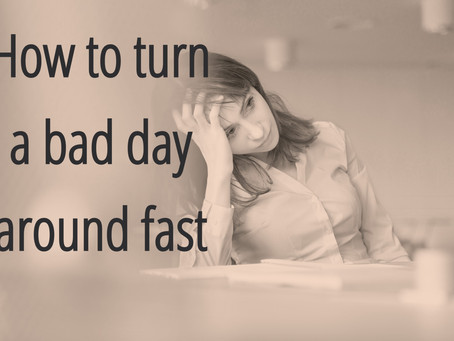 How to turn a bad day around with kids
