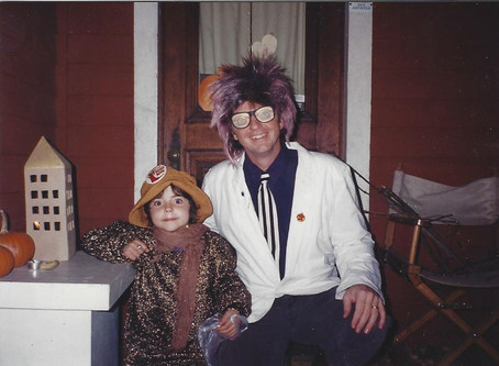 Halloween Memories from two of WVBR's Speciality DJs