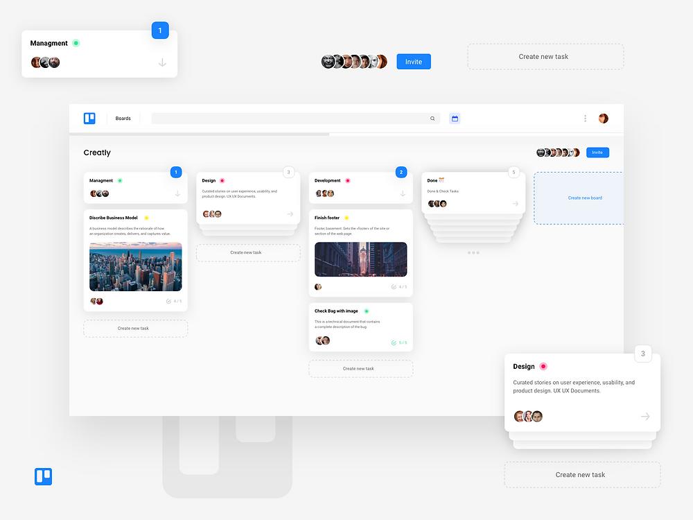 Trello Concept (Web)
