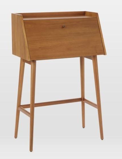 West Elm Mid Century Mini Secretary Desk