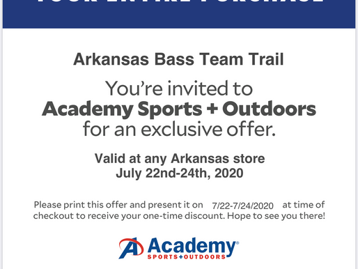 20% off @ Academy for ABTT Members through Friday