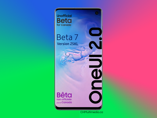 OneUI 2 - Beta 7 Available