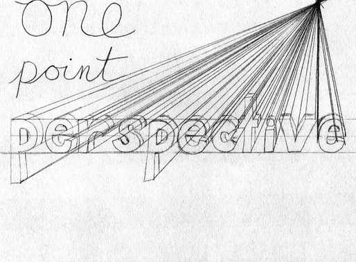 Art Project for Kids: One Point Perspective
