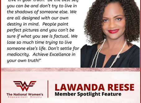 Member Spotlight Feature: Lawanda Reese