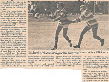 USWRF Women's Rugby History Project: Preserving Your Documents, Photos, and Clothing