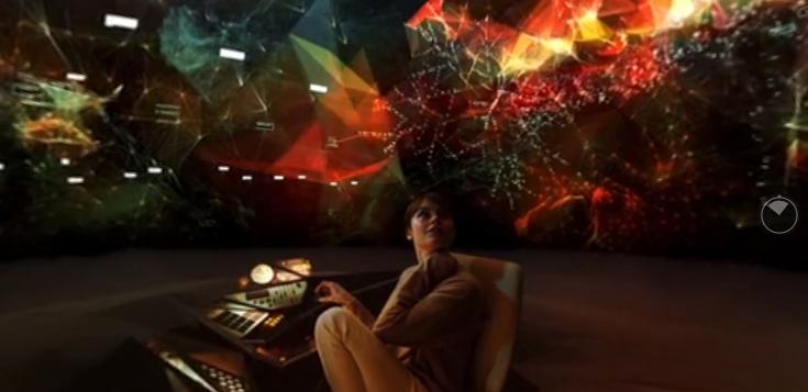 360º film, hyper reality, algorithm, corporation