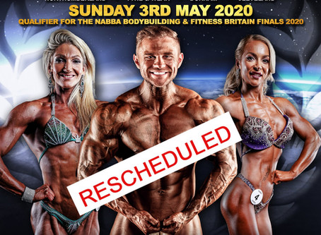 NABBA North 2020 Poster