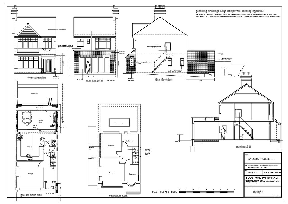 Rear house extension permitted development