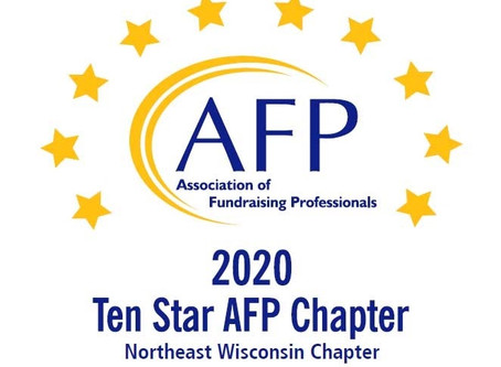 Northeast Wisconsin Chapter honored as a Ten Star Chapter again!