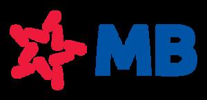Logo MB Bank PNG xanh đỏ