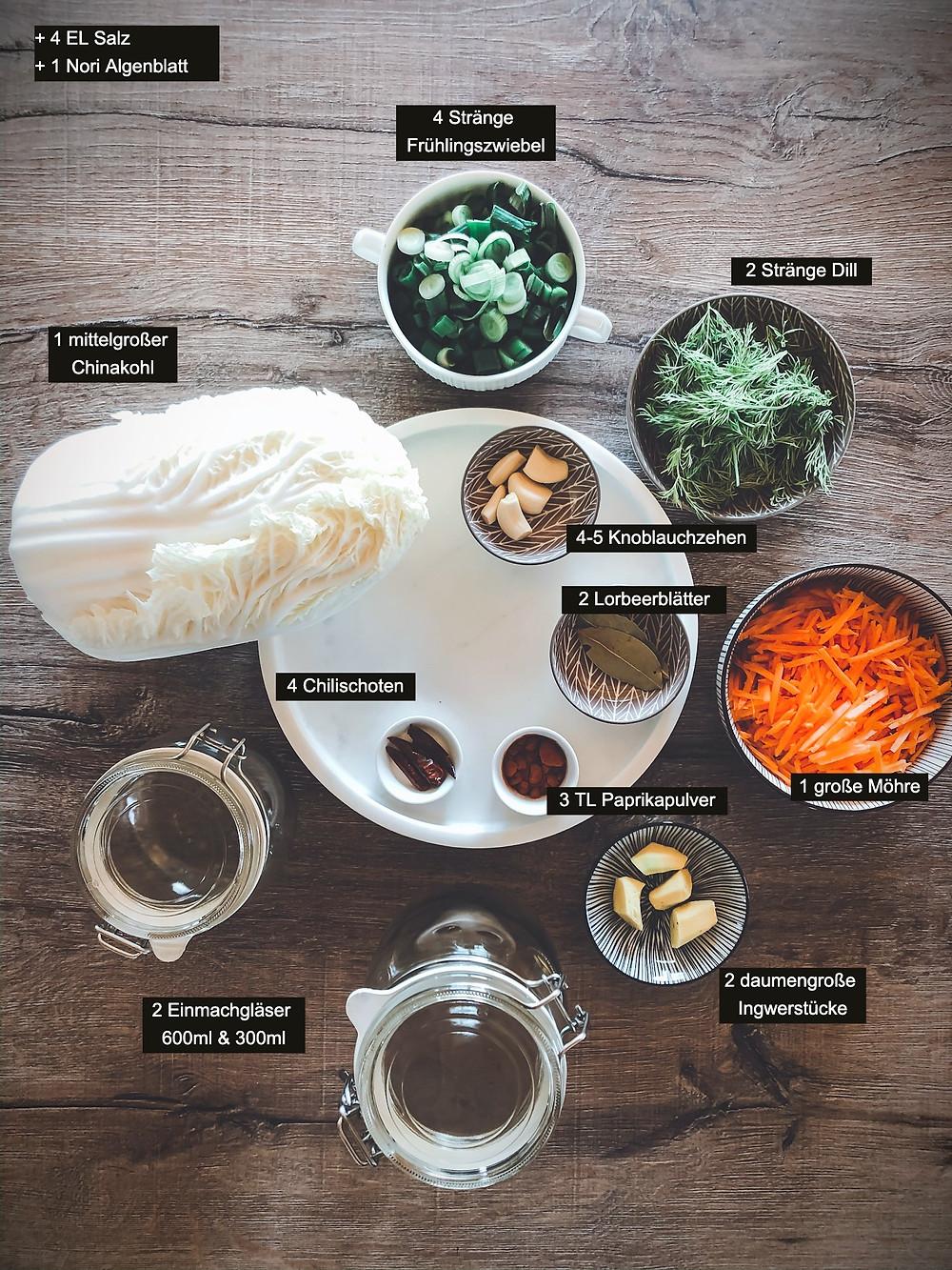 ffocusflowfood einfaches Kimchi Rezept nach traditioneller Familienrezeptur gesund