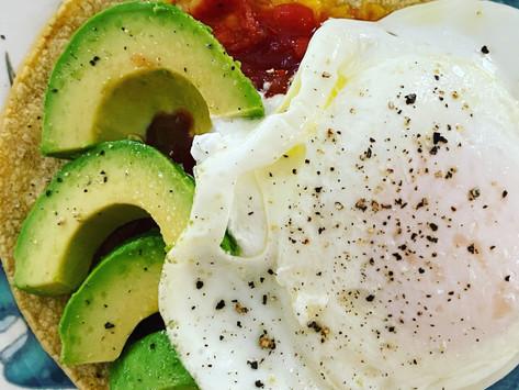 Mexican Egg Tostadas