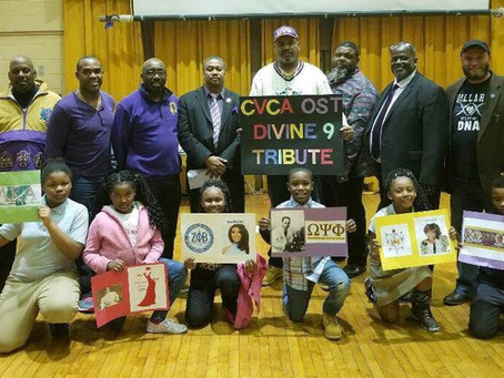 ZII Contributes Divine 9 and HBCU History to School Black History Month Program