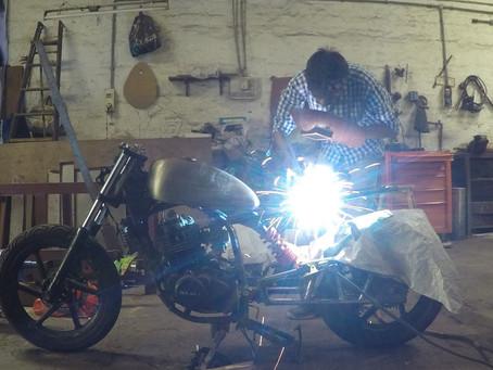 Story of Developing skills - TIG welding