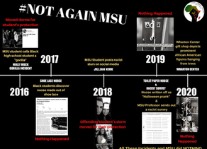 MSU Student gov Trying to Obtain Warrants, FREE Black Power Rally Demanded After Racist Events