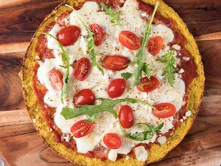 HEALTHY  CAULIFLOWER PIZZA  | #Recipe 19 | Healthy Food lifestyle | #Teamspba