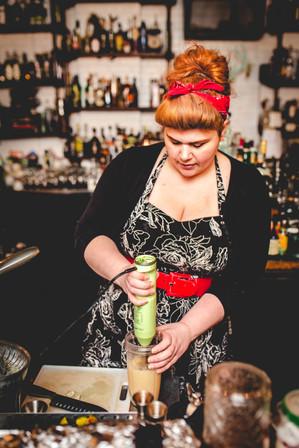 Bartender Suzie Johnson