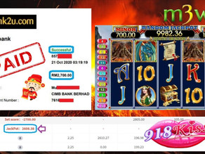 Dragon slot game tips to win RM2700 in 918kiss