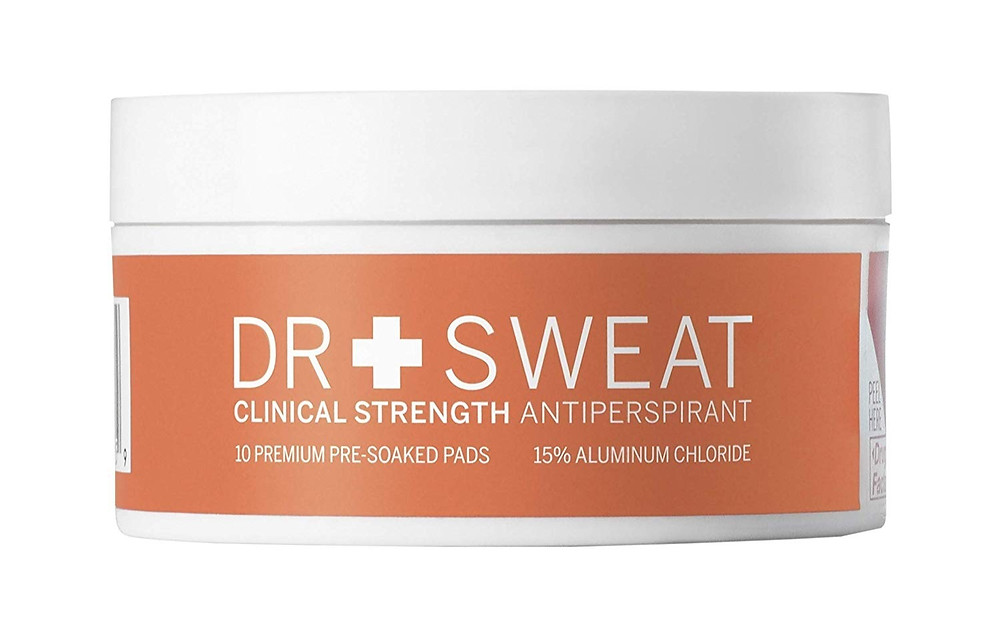 Dr Sweat Clinical Strength Antiperspirant