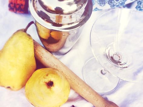 Holiday Spiced Pear-tini