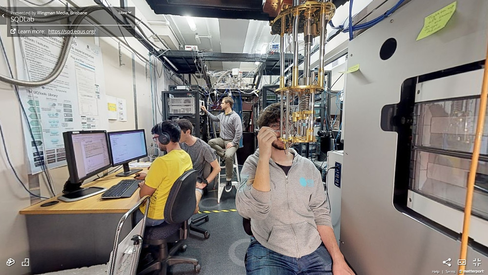 Superconducting Quantum Devices Laboratory at University of Queensland
