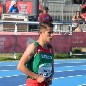 Sensible fallecimiento del atleta Martín Loera.