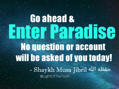 ENTER PARADISE WITH NO ACCOUNT!