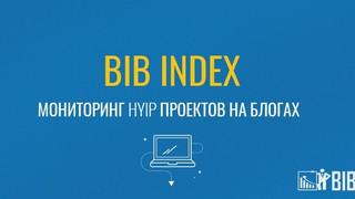 BIB INDEX - мониторинг хайп проектов на блогах инвесторов