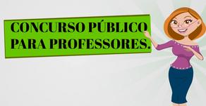 Secretaria da Educação abre cinco editais com vagas para professores; Salários de até R$ 2,1 mil.