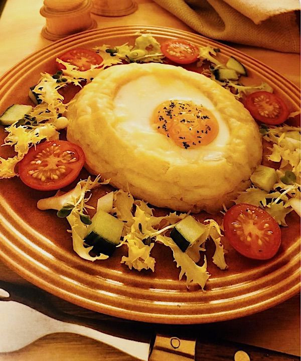 Zdravá bramborová hnízda recept