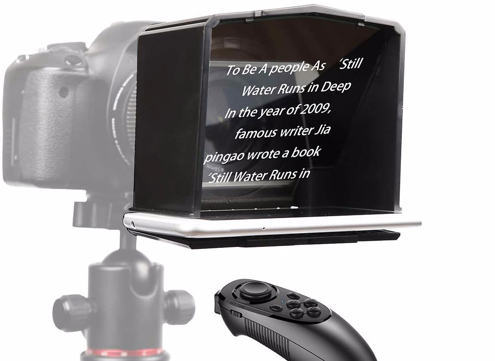 bestview t1 teleprompter for smartphone