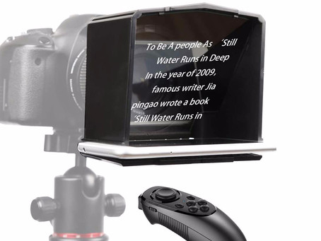 Smartphone Teleprompter for better productions