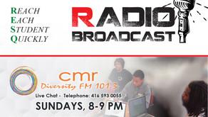 We are on Radio every Sunday