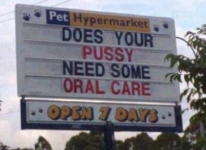 Does Your Pussy Need Some Oral Care Meme