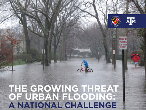WHY DOES URBAN FLOODING HAPPEN?