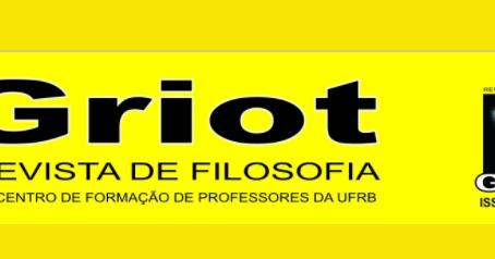 Chamada de artigos: Revista GRIOT
