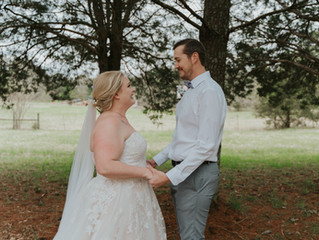 Rachel & Chris' Backyard Wedding   Risen Vintage Photography