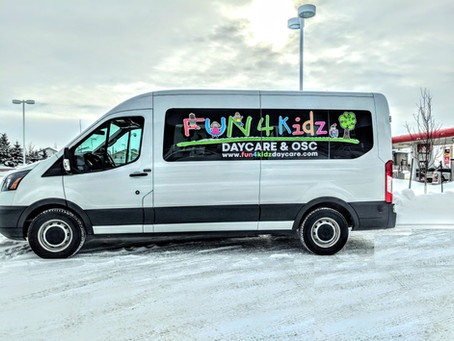 We have extended our van service to BOTH Lago Lingo and Bishop Greschuk Elementary schools