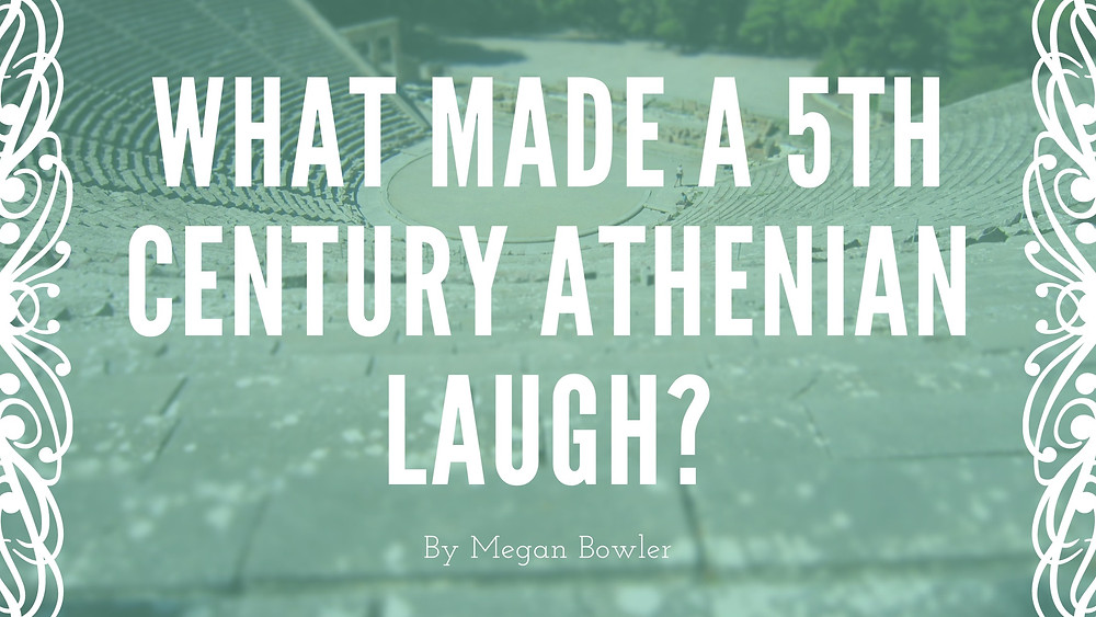ancient greek theatre laughter