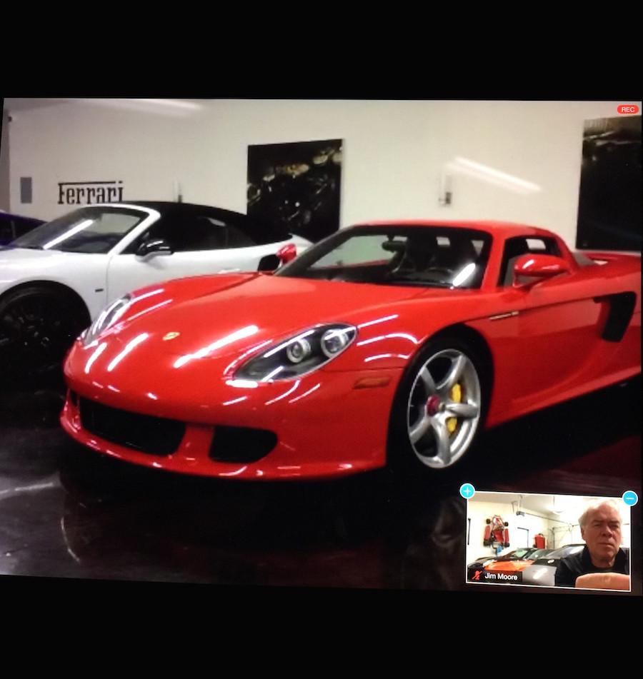 Porsche Carrera GT at Ash Crest Collection