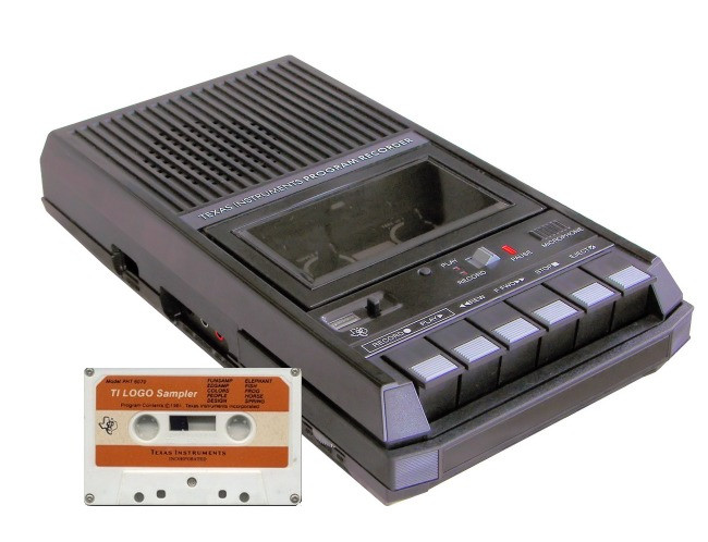 Generic 3rd party tape deck – could be hooked up to ZX Spectrum computers